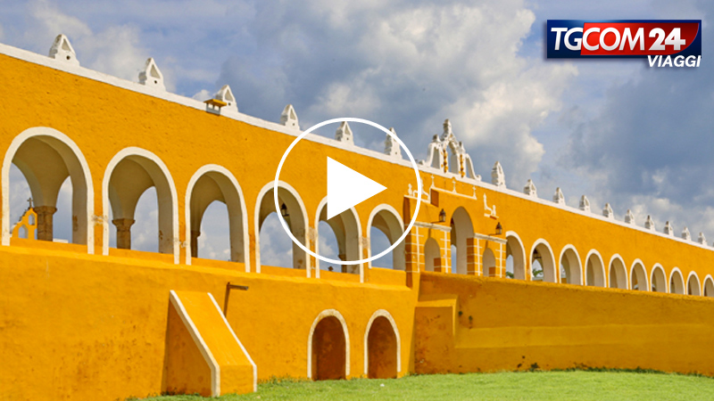 IZAMAL: the magic, yellow city