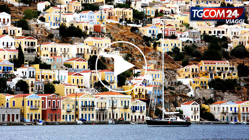GREECE, SIMI AND PATMOS ISLANDS
