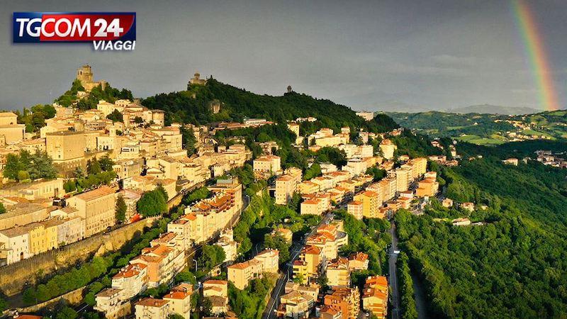 Un volo sulla Repubblica di San Marino