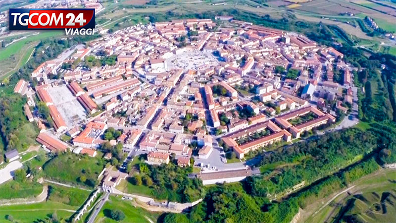 Palmanova, la città stella ricca di storia.