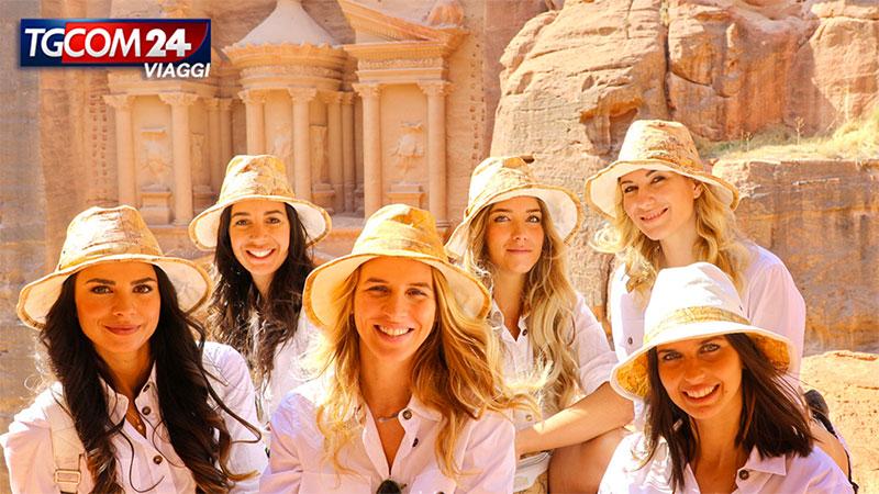 Petra: la città scavata nella roccia.