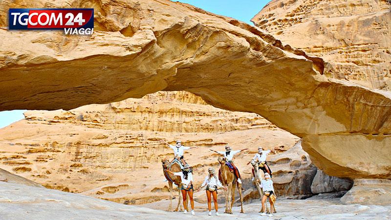 Il deserto rosso del Wadi Rum.