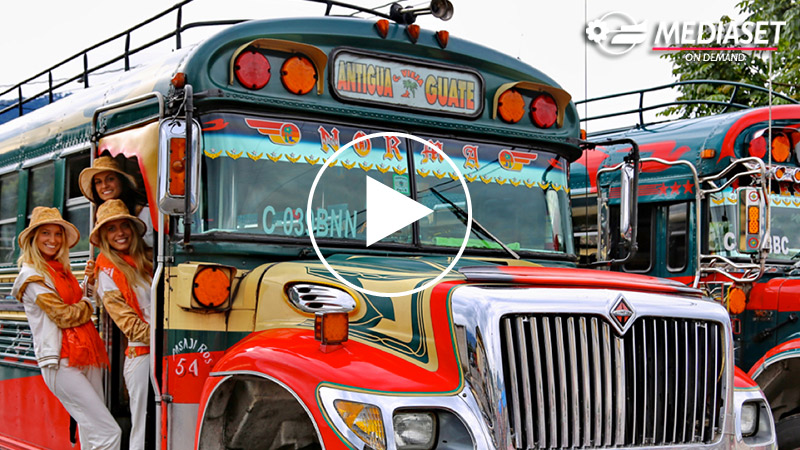CAMIONETAS, THE GUATEMALA'S BUSES